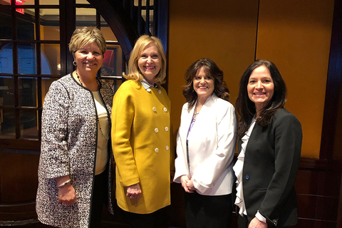 Michele Capaccio, Chief Operating Officer, Protravel International Becky Powell, President, Protravel International Deanna Fjelsted, Director of Talent Development, Protravel International Laura D'Angelo, Vice President of Operations, Protravel Internatio