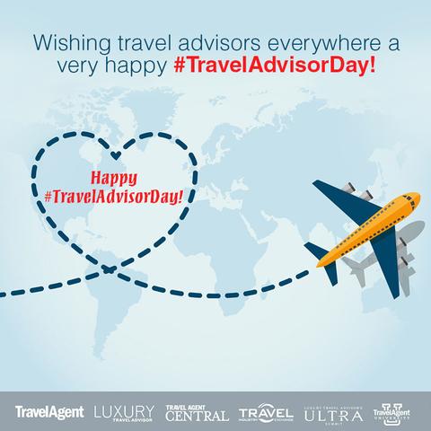 Travel Advisor Day Graphic