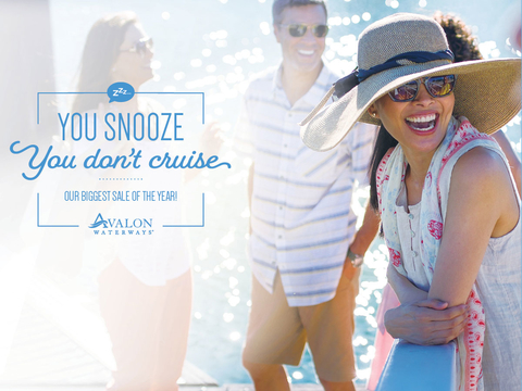 Avalon Waterways You Snooze, You Don't Cruise
