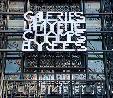New In Paris Galeries Lafayette Opens On Champs Elysees