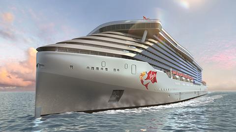 Virgin Voyages Rendering