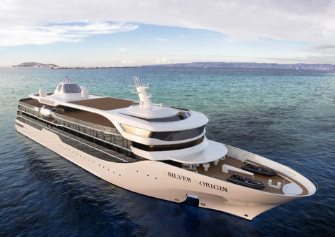 Rendering of the exterior of the ship.
