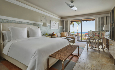 A room at the Four Seasons Resort Nevis