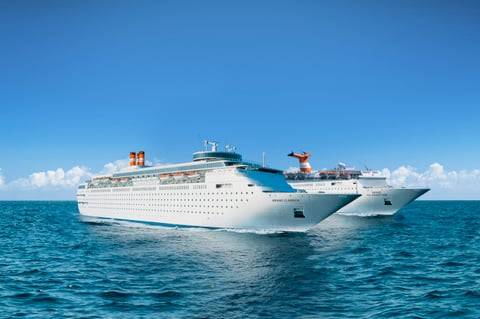 The cruise line's Grand Classica and Grand Celebration at sea