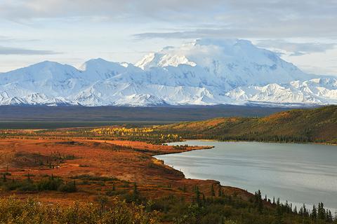 Denali and Wonder Lake - kongxinzhu/iStock/Getty Images Plus/Getty Images