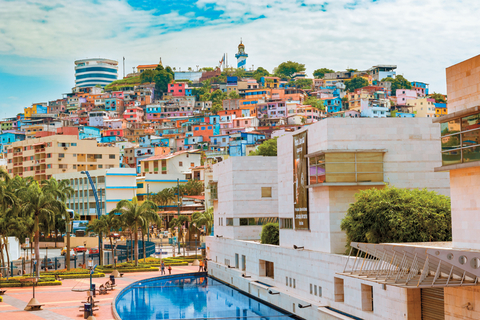 Santa Ana Hill in Guayaquil, Ecuador