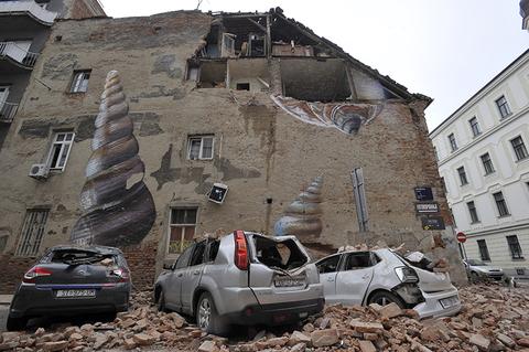 Zagreb, Croatia earthquake
