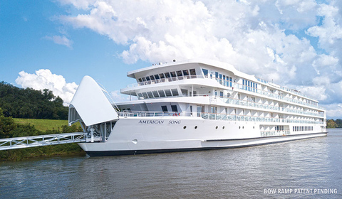 American Cruise Lines Opening Bow