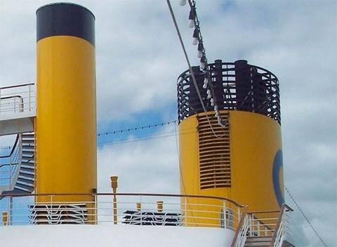 Costa Cruises funnel