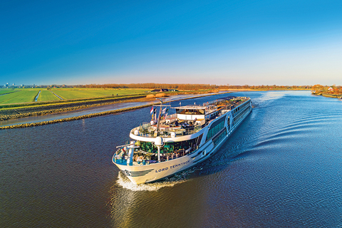 Riviera River Cruises' 443-foot Lord Tennyson