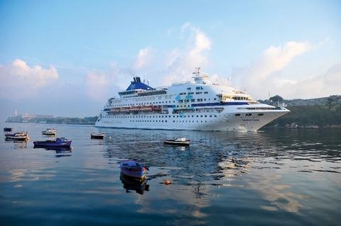 cruise Celestyal Cruises courtesy of Celestyal Editorial Use Only Havana harbor