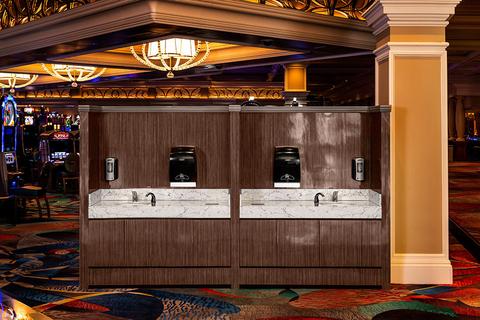 MGM Resorts handwashing stations