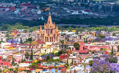 San Miguel de Allende - Alexcrab/iStock/Getty Images Plus/Getty Images