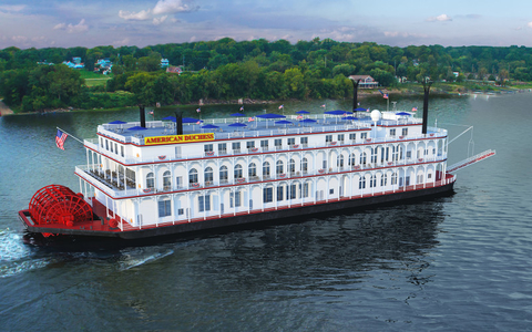 American Queen Steamboat Company Newest Ship