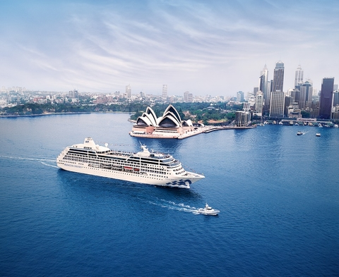 Australia Cruise Pacific Princess Sydney Editorial Use Only Photo by Princess Cruises
