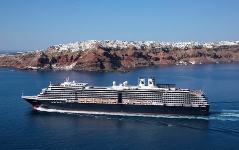 Holland America Westerdam Updated Refurbished Photo by Holland America Line Editorial Use Only