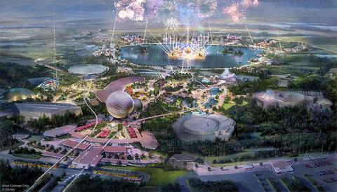 Epcot rendering - Walt Disney World
