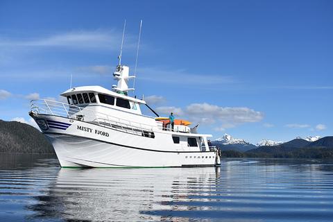Alaskan Dream Cruises: Misty Fjord