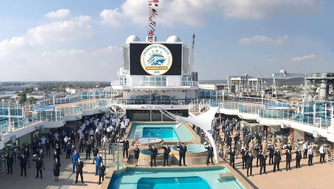 Enchanted Princess Handover Ceremony October 2020