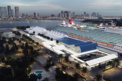 Carnival Cruise Line's Terminal F at PortMiami