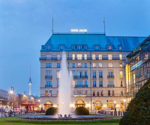 Adlon Hotel Kempinski In Berlin
