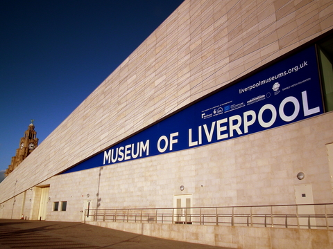 sign on building that says Liverpool