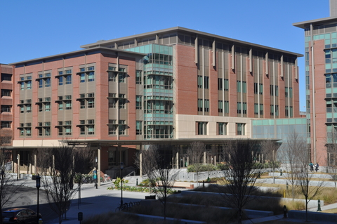 A building on the Medical University of South Carolina campus