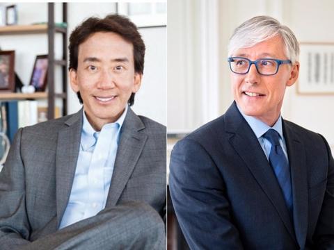 David Hung and Olivier Brandicourt