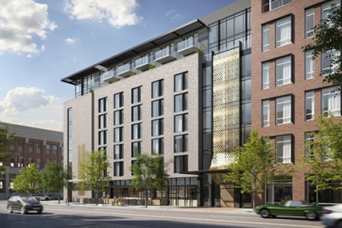 two firms combine for new denver hotel to open in 2017 | hotel
