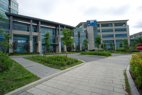 Bell Canada HQ in Montreal, Quebec