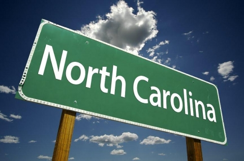 North Carolina sign
