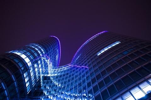towers night
