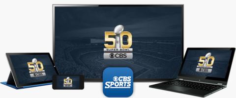 CBS Sports Super Bowl 50