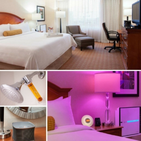 Tampa Marriott Waterside debuts Stay Well guestrooms   Hotel Management