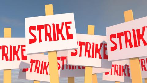 Strike signs