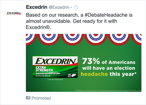 Image result for excedrin #debateheadache