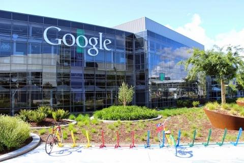 Google HQ building