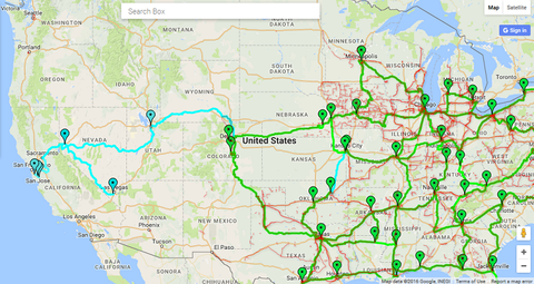 Windstream To Open New Western Fiber Transport Network Address - Us fiber map