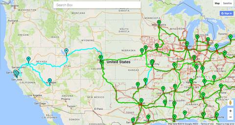 Windstream To Open New Western Fiber Transport Network Address - Us fiber map