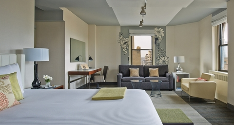 joint venture acquires rebrands the affinia manhattan hotel