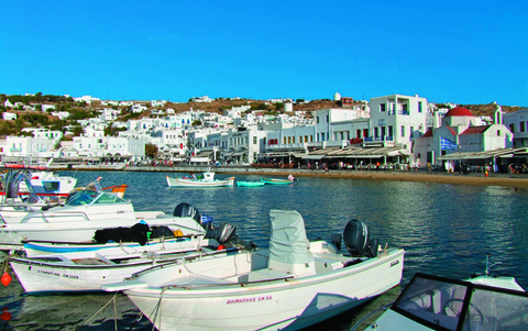The eight-day Greece Island Hopping FAM Trip itinerary will visit Mykonos along the way.