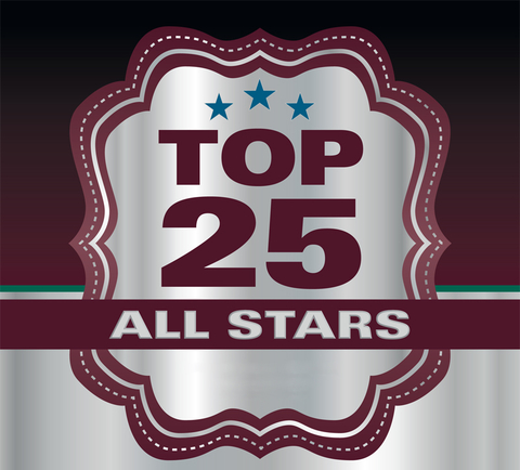 Travel Agent's 2016 Top 25 All Stars