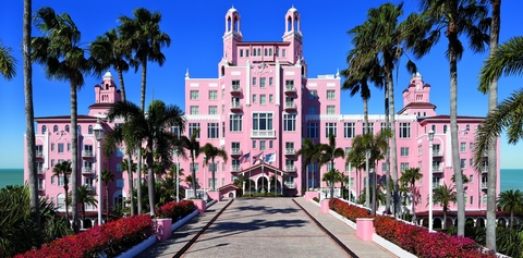 Host Hotels And Resorts S The Don Cesar Hotel In St Pete Beach Fla