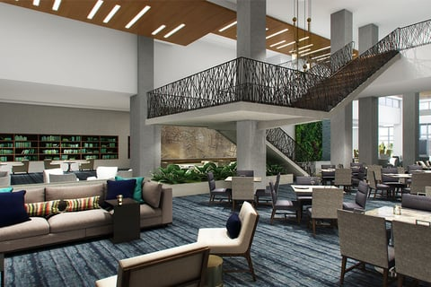 Designers Draw Inspiration From Local Denton Arts For Largest Embassy Suites Under Construction
