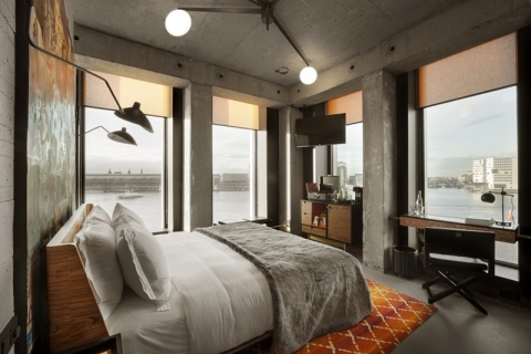second sir hotel opens in amsterdam boasts industrial chic