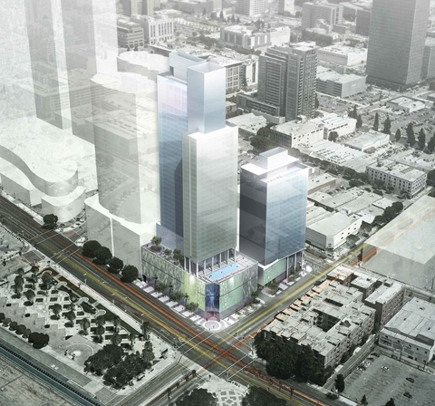 Lightstone Plans Trio Of Hotels Near The Los Angeles Convention Center