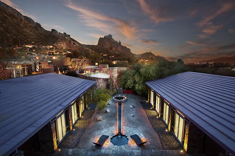 Sanctuary On Camelback Mountain Spa Editorial Only