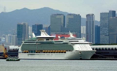 Royal Caribbean International Mariner of the Seas Hong Kong Photo by Royal Caribbean Young Editorial Use Only