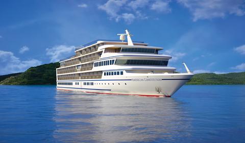 American Cruise Lines Names New Coastal Cruise Ship American - Names for cruise ships