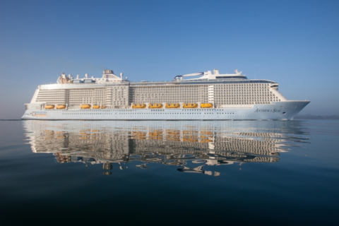 Exterior of Anthem of the Seas